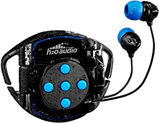 H2O Audio 100% Waterproof Headphones & Waterproof iPod Shuffle Case Swim Solution, Superior Sound and Construction Include...