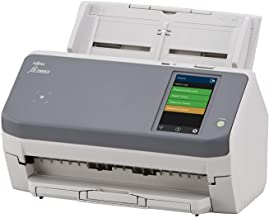 "Fujitsu FI-7300nx Workgroup Scanner - Network Enabled, 4.3"" Touchscreen, Gray/Beige"