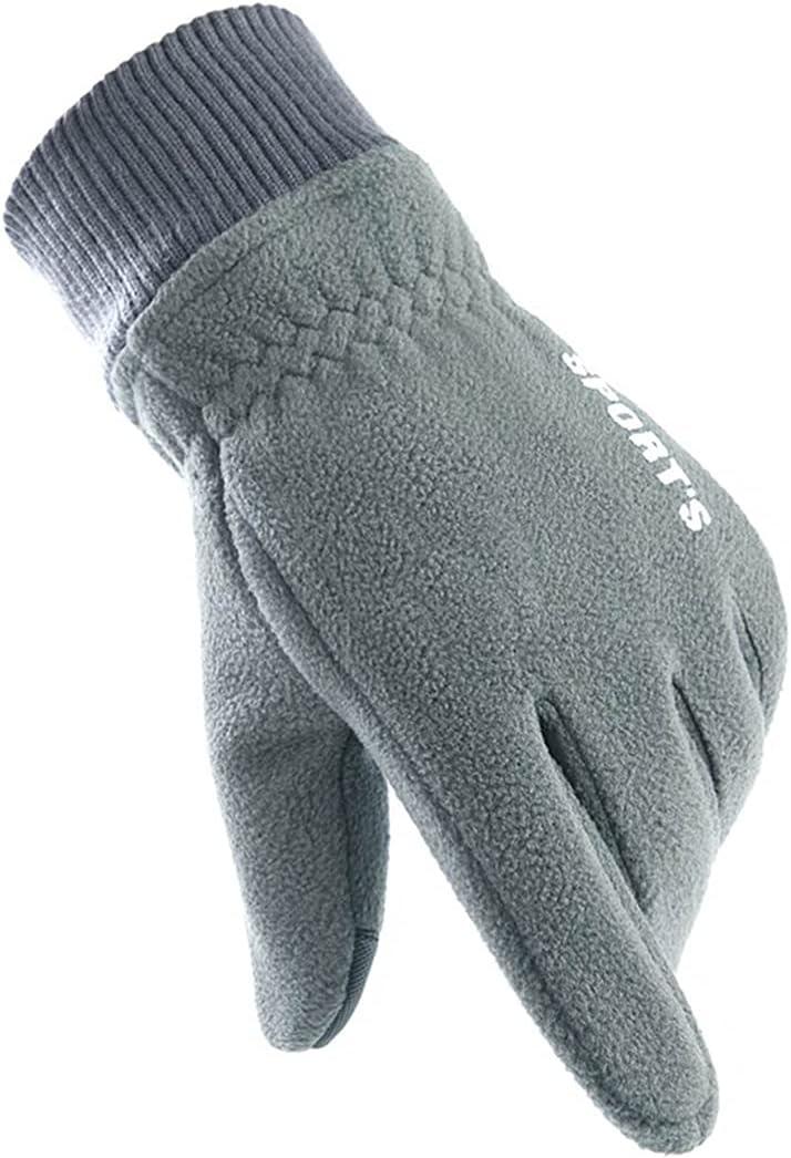 yeesport Winter Gloves Polar Fleece Windproof Warm Sports Gloves Touch Screen Gloves with Elastic Cuffs for Women