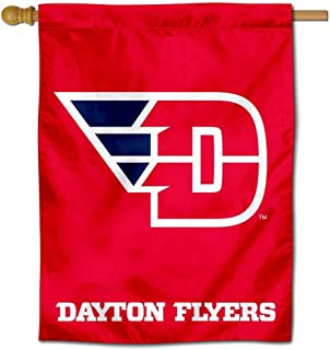 Dayton Flyers Flying D House Flag Banner