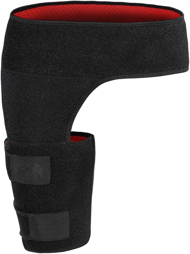 Adjustable Compression Brace Thigh Supports Groin Japan Maker New NEW before selling ☆ Reusable Suppo