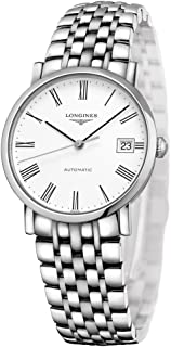 Longines Elegant White Dial Automatic Ladies Steel Watch L4.809.4.11.6