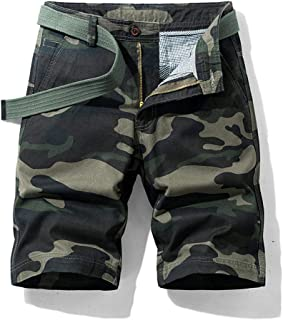 Men's Camouflage Shorts Casual Wear Outdoor Work Shorts Loose Fit Beach Pants