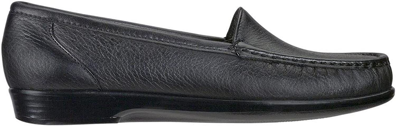 SAS Woherren, Simple Slip Slip Slip on Loafer schwarz 9.5 W  3ed331
