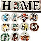 A/A Austauschbare Willkommensschilder Haustür Dekor, Zwerg Home Schild, Willkommen Dign Ver anda Dekor, Rustikale Holztür Kleiderbügel Haustür, Home Decoration