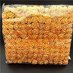 lefuyan 144 pcs/pack mini foam artificial rose flower bouquet wedding decor craft supplies