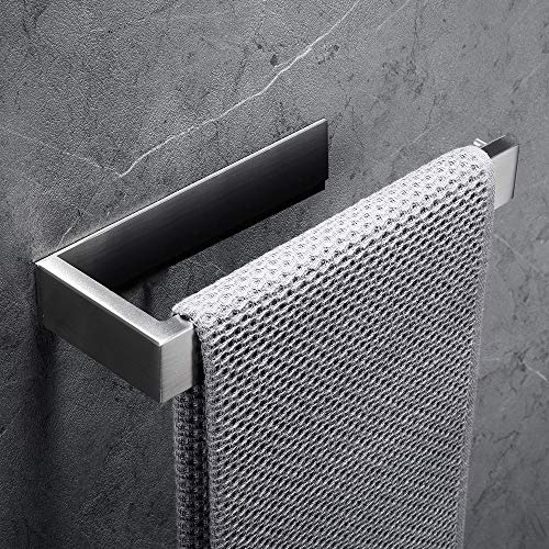 Lolypot Handtuchhalter Handtuchring Handtuchstange ohne bohren 304 Edelstahl Selbstklebend Gebürstetes Oberfläche Bad Handtuchringe Badezimmerzubehör für Badezimmer