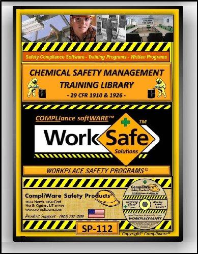 SP-112 - CHEMICAL SAFETY TRAINING LIBRARY – OSHA - 29 CFR 1910 & 1926 - UPC - 639737374995