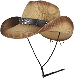 LiWen Zheng Western Cowboy Hats Men Women Summer Straw Cowgirl Party Costume Crimping Western Hat Sombrero Hombre Cowboy Hats For Men