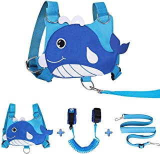 Lehoo Castle Leash for Kid, Toddler Harness with Leash, 4-in-1 Toddler Leash for Boys, Kid Leash Harness with Kids Safety ...