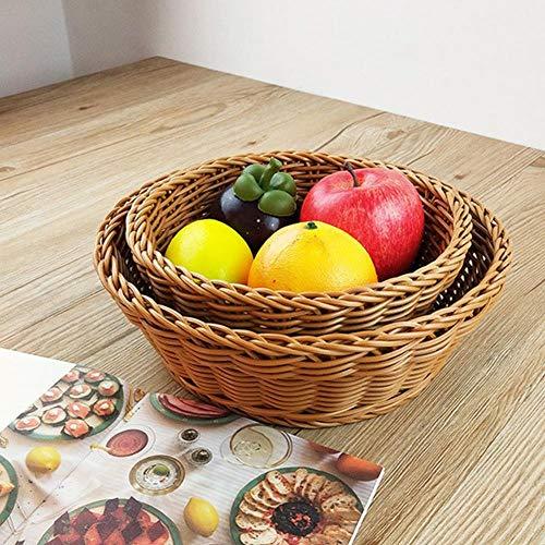 Miner Geschenk Hampers Vintage Gemüse Obstkorb Brot Weben Runde Küche Handgemachte Home Decor Lagerung Snacks