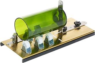 Kit de cortador de garrafas de vidro Cortador de garrafas DIY Máquina para cortar garrafas ovais redondas e potes de vidro...