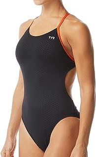 Fumoso Intero da Donna vestibilit/à Cutoutfit Durafast One TYR Intero Donna da Allenamento Nuoto Donna