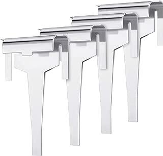 Hotop 4 Pieces DA61-06796A Clip Drain Evaporator Refoem Compatible with Samsung Refrigerator Replace for DA61-06796A, AP5579885, 2683162