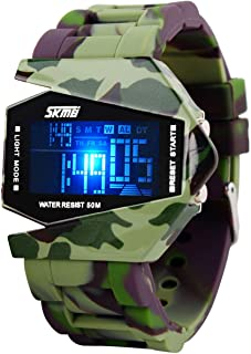 Kids Digital Watches, Children Waterproof Watch with Luminous Alarm Chronograph LED Electronic Outdoor Sport Wrist Watches for Boy Girl Age 5-13