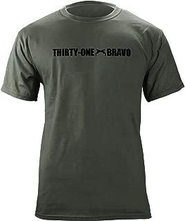 Army Military Police MOS 31 Bravo 31B Veteran Shirt