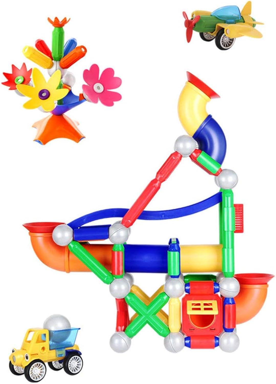DYMAS Intellektuelles Spielzeug Puzzle DIY Montage Track Magnetic Rod Spielzeug B07HD6H4FC Elegante Form  | Helle Farben