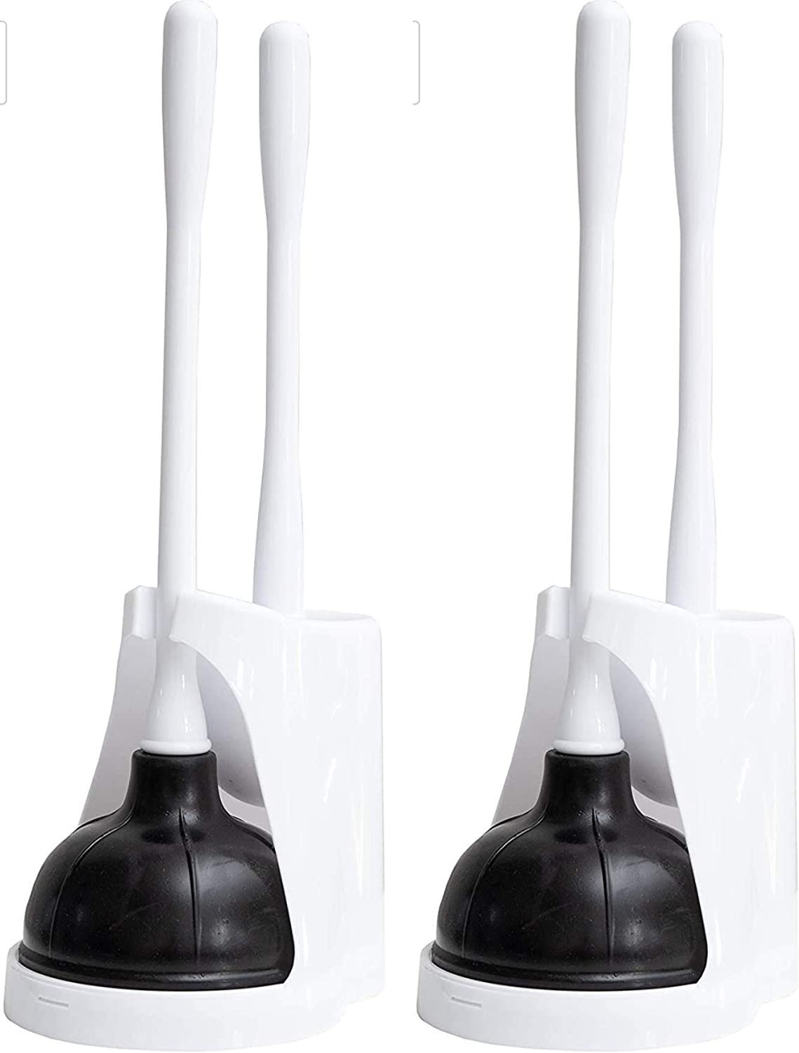 sale Klickpick Home Pack of 2 Plastic Cleaner P and Toilet Inventory cleanup selling sale Bowl Brush