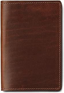 J.W. Hulme Leather Passport Wallet, Slim Design for Travel, American Heritage
