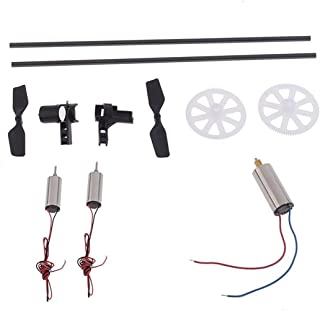 Tinksky Professional WLtoys V911 V911-1 V911-2 RC Helicopter Spare Parts Accessories Kit Set Main Motor Gear Tail Blade Tail Pipe Tail Motor Seat