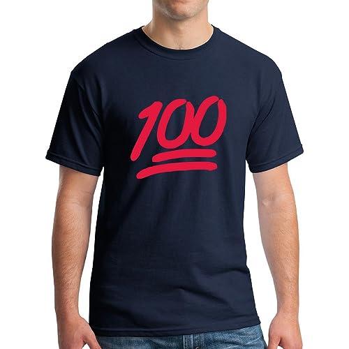 477e62bf New York Fashion Police Keep it 100 Emoji Funny Graphic T-Shirt
