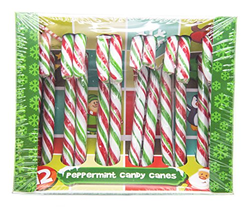 Peppermint Candy Canes, 144g