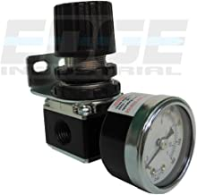 "MINI PRESSURE REGULATOR FOR COMPRESSED AIR SYSTEMS, 1/4"" NPT PORTS, ADJUST 7 TO 140 PSI"