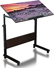 Mobile Laptop Desk Height Adjustable Table Spectacular Sunset at The Elgol Beach Isle of Skye Scotland Small Rolling Couch...