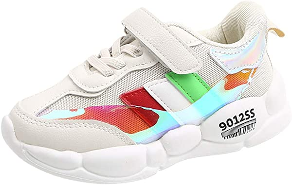 Boys And Girls Trend Mixed Color Sneakers Kids Boys Girls Trainers Sneakers Sports Running ShoeBaby Infant Casual Shoe Perfect For Year Round