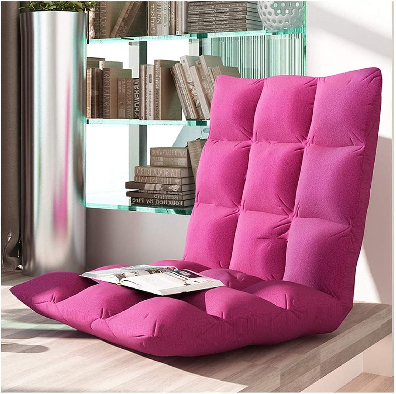 Lazy Sofa Tatami,Mini Bedroom Tatami,Single Folding Sofa Chair Cushion, Suitable for Bedroom, Balcony, Living Room (color   A)