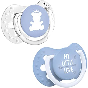 LOVI Silicone Dynamic Soother Indian Summer Girl 2 pcs BPA free Hygienic Cover Comfortable Hand 0-3+ Months