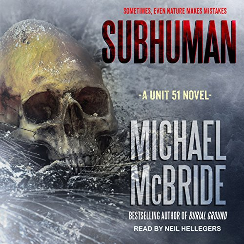 Subhuman audiobook cover art