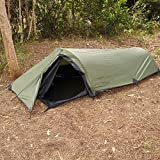 Snugpak Ionosphere 1 Person Tent, 94 inches x 35 inches x 28 inches, Waterproof Polyester and Nylon,...