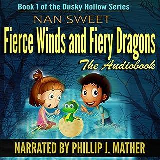 Fierce Winds & Fiery Dragons audiobook cover art