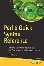 perl language syntax