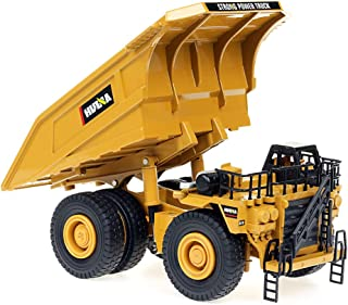 1/40 Scale Diecast Heavy Metal Dump Truck, Metal Construction Vehicles Trucks Toys for Boys Kids (Dump Truck)