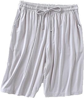 Pyjamabyxor damshorts sommar lös hem modal tunna lediga fempunktsbyxor hög midja stor storlek kan bäras utomhus