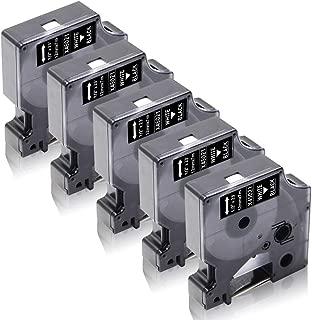9mm x 7m Printing Pleasure 2 x D1 40913 S0720680 Nero su Bianco Nastro compatibile per Dymo/LabelManager 160 210D 220P 260P 280 360D 420P 450D 500TS PnP /& LabelPoint /& LabelWriter 450 Duo