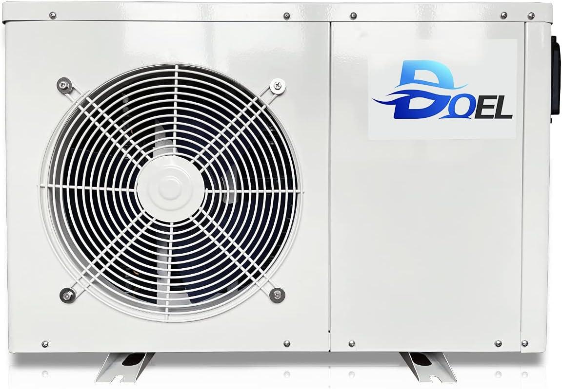 DOEL D056HSP 19000BTU Swimming 2021 autumn and winter new Pump Standard In a popularity Pool Heat