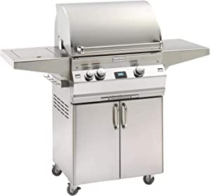 Firemagic Grills Aurora Portable Grill w/Sideburner and Digital Thermometer - LP