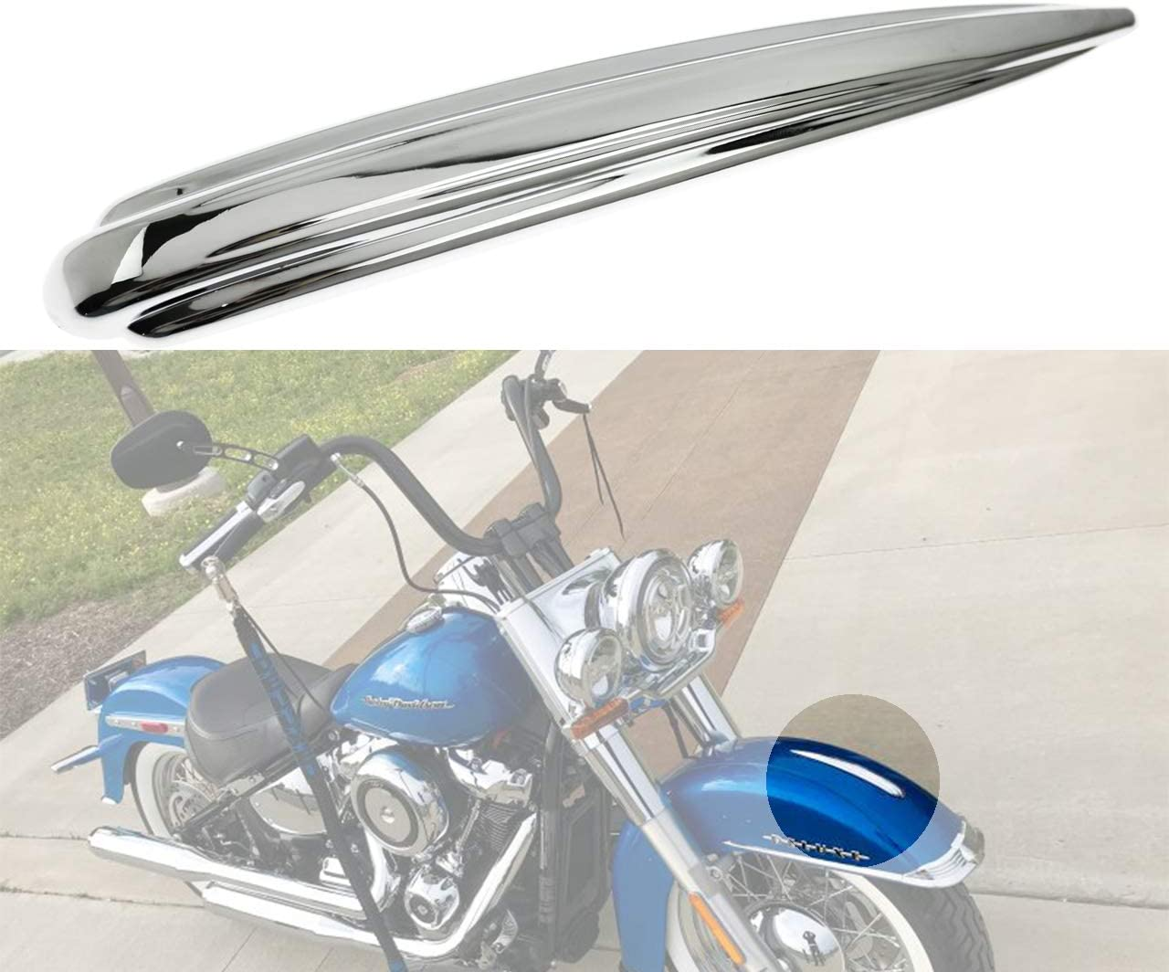 YHMTIVTU Motorcycle Front Fender Mudguard Store Harley Cheap Trim for To Fit