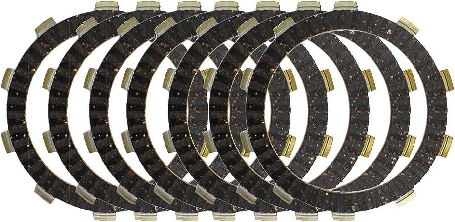 Road Passion Embrague Disco de Fricción Estándar 7 pcs para XR 400 R/TRX 400 EX /CR125R /CBR 600 F4