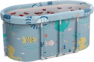 Bad voor volwassenen, Draagbare opklapbare badkuip, Familiebadkamer Home SPA vrijstaand zwembad, ideaal voor ijsbad met wa...
