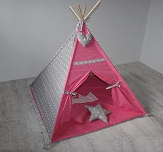 Designa ditt eget Tipi-tält för barnens sovrum i olika färger 125 x 125