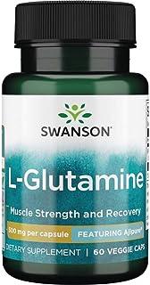 Sponsored Ad - Swanson Amino Acid Ajipure L-Glutamine Pharmaceutical Grade 500 Milligrams 60 Veg Capsules
