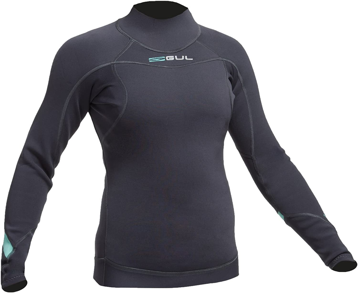 Gul Womens Code Zero 3MM Long Sleeve Thermo Top JetEasy Stretch Thermal Lining. WaterproofBLINDSTITCHED  Seam construction
