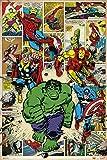 Grupo Erik Editores Poster Marvel Comic