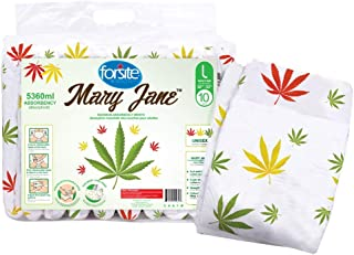 """Forsite Mary Jane Max Absorbency Briefs (Medium) (Large-36""""-50"""")"""