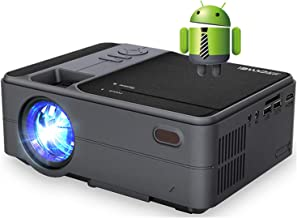 Mini Projector with Bluetooth, 3800 Lumen Full HD 1080P Supported LED Portable WiFi Projector, Wireless Synchronize Screen...