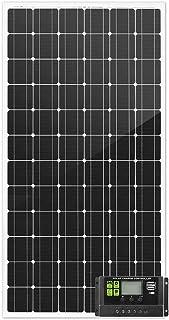 ATEM POWER 250W 12V Solar Panel Kit Mono Fixed Camping Caravan Boat Power Battery Charging 12 Months Warranty